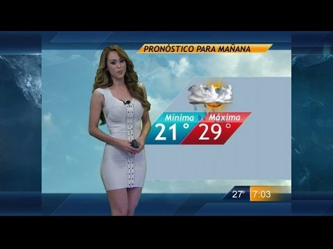 Meteorologists Overseas Wear Short Dresses, Shorts for Weather Forecast. http://bit.ly/2GPkyb3