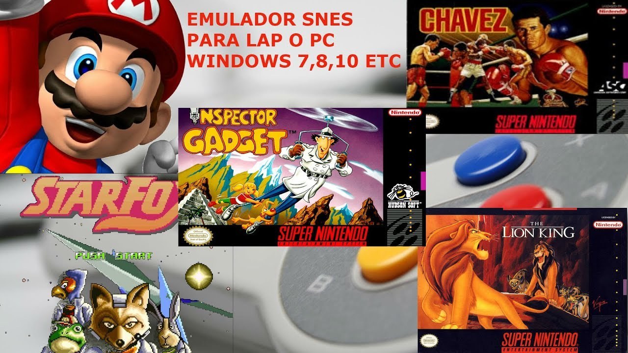 Emulate the SNES on your Mac