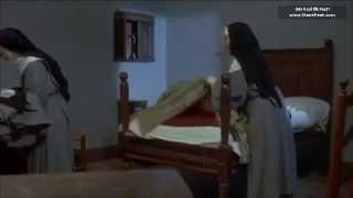 Anna Karina barefoot in La religieuse