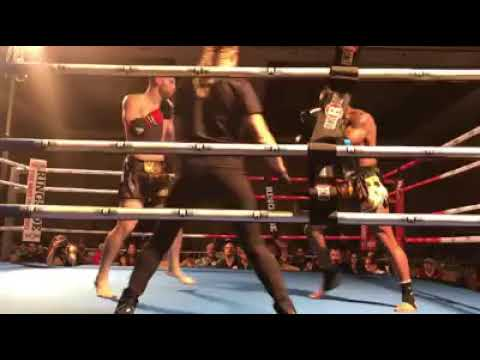 Ross Levine wins by TKO in Muay Thai Fight Filmed by Joseph Greenhalgh