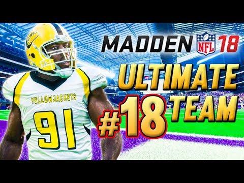88 OVR FLASHBACK WAKE & MORE UPGRADES! | Madden 18 Ultimate Team Ep.18