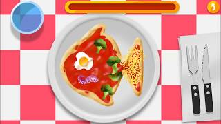 Pizza for Kids Part2  : Develops motor skills and cooking knowledge