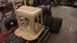 Custom wooden pc case build - Video 3