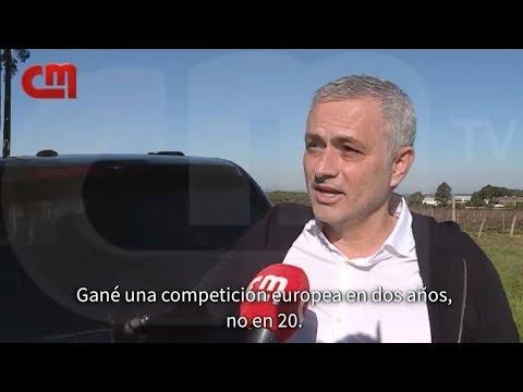 """Mourinho presume de sus logros en el Man United y """"critica"""" a Ferguson ⚽ REVIEW ⚽ 2019"""