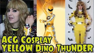 ACG Cosplay Review || Yellow Dino Thunder Power Ranger Cosplay