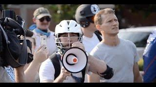 Protests in Auburn: Richard Spencer