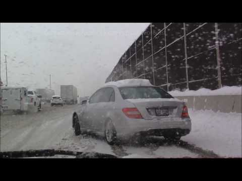 3-14-17 Hammond, IN , East Chicago, HEAVY LAKE EFFECT SNOWFALL