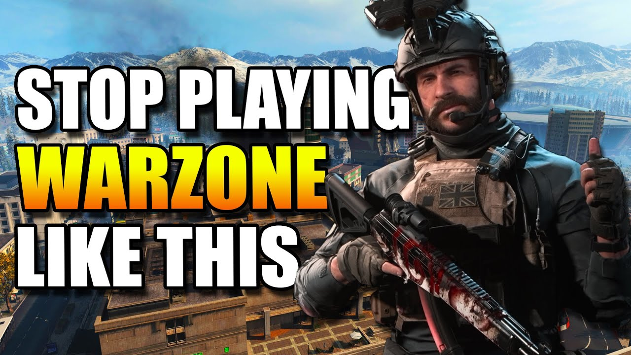 Most Common WARZONE Mistakes! Get BETTER at WARZONE! Warzone Tips! (Warzone Training)