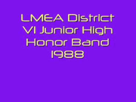 Brookpark Overture 1988 LMEA Dist VI Jr. High Honor Band