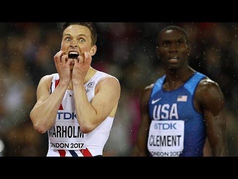 Leichtathletik-WM: Hürdengold für Norweger Warholm