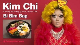 Cooking W/ Drag Queens - Kim Chi - Bi Bim Bap (korean Style Mixed Rice)