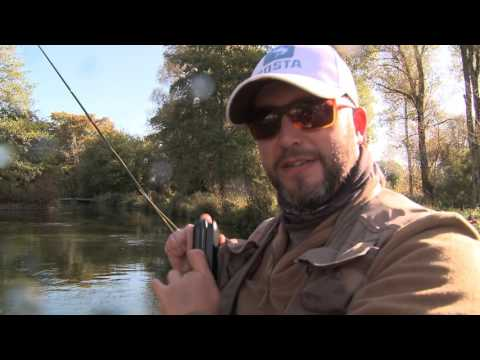 Beginners Guide To Fly Fish For Grayling (The River Test) With Ben Bangham - WildernessTV