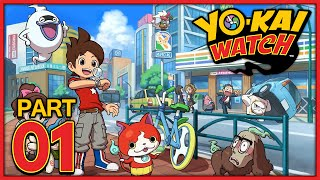 YO-KAI WATCH #1 | DIE YO-KAI WATCH! | YO-KAI WATCH Deutsch Part 1 German