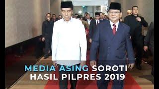 Media Asing Soroti Unggulnya Jokowi-Ma'ruf Amin di Hasil Pilpres 2019