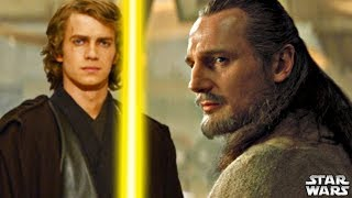 What If Qui-Gon Jinn Trained Anakin Skywalker - Star Wars Story Explained