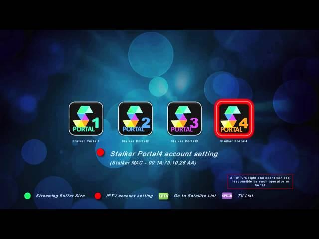 Medi@link SmartHOME series How to set stalker IPTV V 1 1