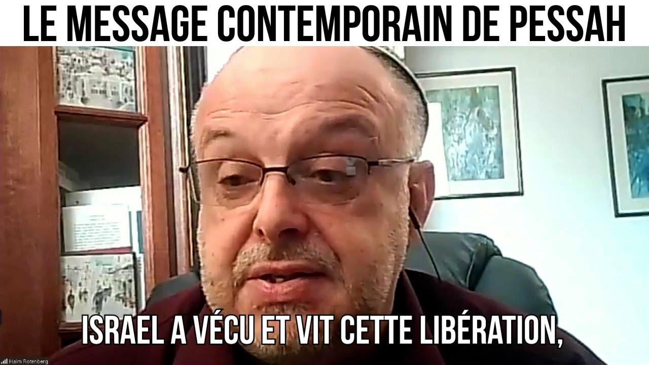 Le message contemporain de Pessah  - IMO#128
