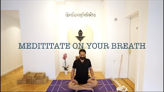 Meditate on your breath with Shahid Khan