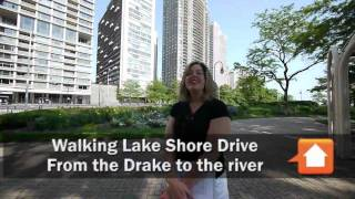 Francesca rose, a real estate agent who specializes in streeterville properties, took me on walking tour of lake shore drive, from michigan avenue east and...