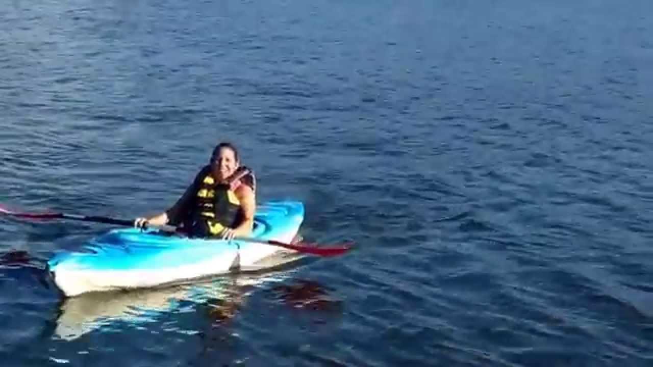 Kayaking at the lake in acworth beach georgia youtube for Lake acworth fishing