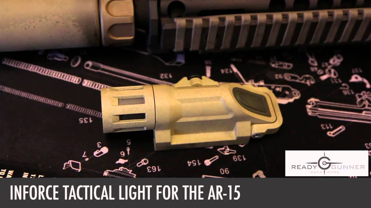 upgrade your ar 15 with a tactical light from readygunner 87846