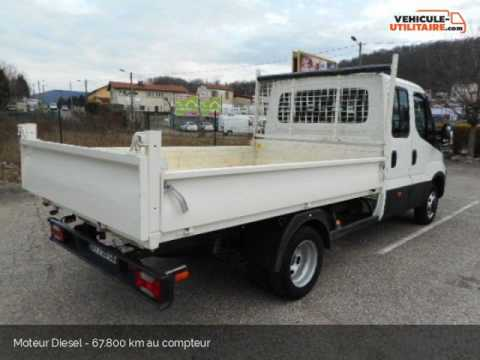chassis carrosserie iveco daily benne double cabine 35c13 garage rivat youtube. Black Bedroom Furniture Sets. Home Design Ideas