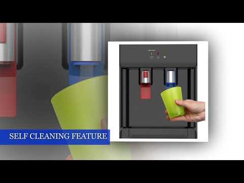 Avalon Countertop Self Cleaning Bottleless Water Cooler Water Dispenser - Hot & Cold Water