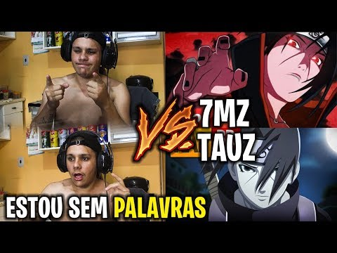 REACT Rap do Itachi Naruto TAUZ VS 7MZ