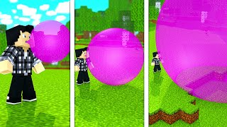 BUBBLE GUM SIMULATOR DANS MINECRAFT !