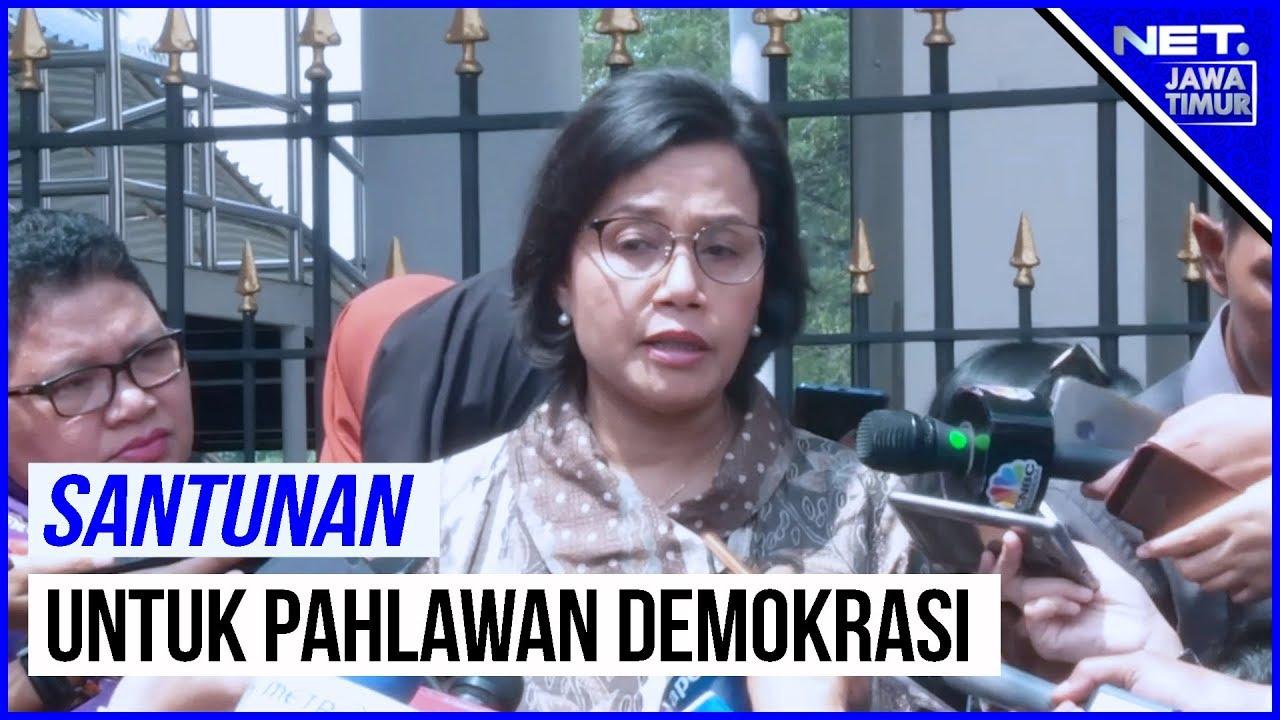 Pemerintah Akan Berikan Santunan Bagi Pahlawan Demokrasi Yang Gugur - NET. JATIM