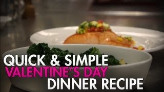 Impress Her On Valentine's Day With This Simple Salmon Recipe