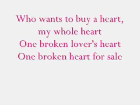 Elvis Presley- One Broken Heart For Sale