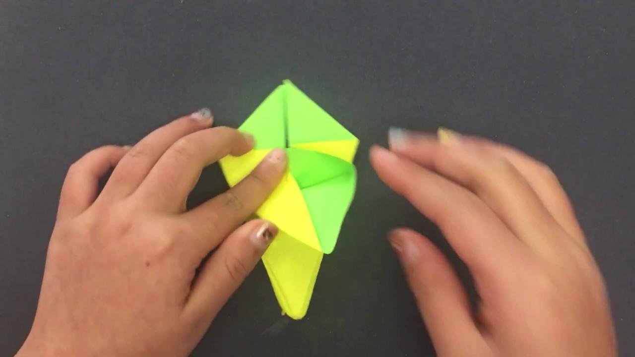 Origami Flower Lily Iris Folding Instructions Beautiful Flower 2017