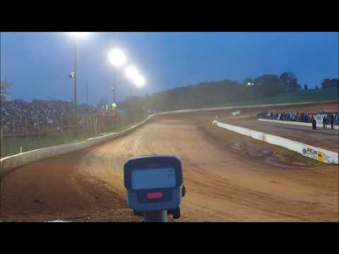 Qualifying Speeds - World of Outlaws Late Models - Smoky Mountain Speedway 9-13-13
