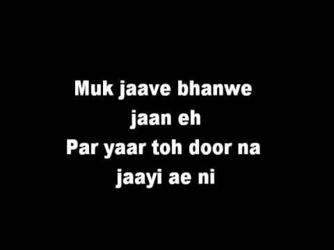 Amrinder Gill Yaarian Lyrics