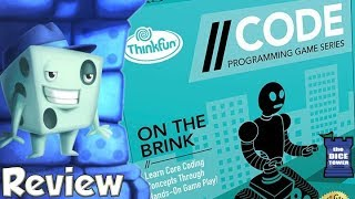 //CODE: On the Brink Review - with Tom Vasel