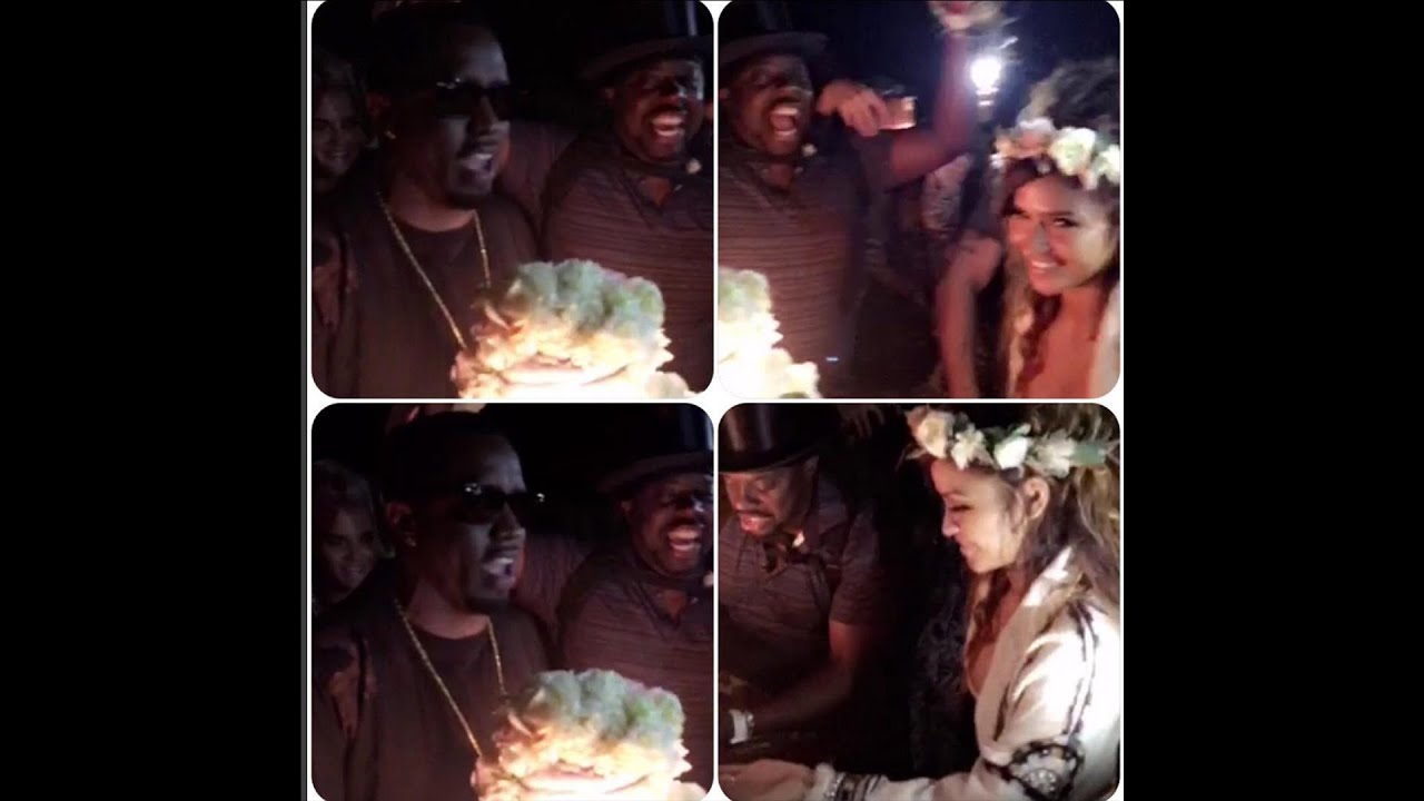Diddy Throws Cassie A 30th birthday Party Bringing out The Game French Montana and