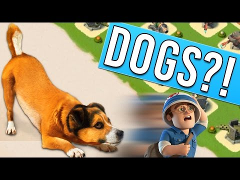 DOGS AND BOOM BEACH?! Let's Play (Extended Play)