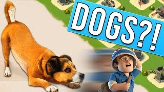 DOGS AND BOOM BEACH?! Let