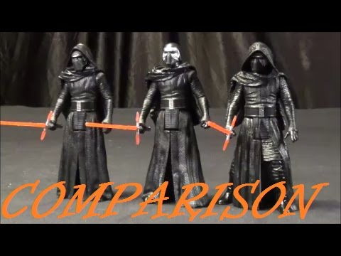 Toy Comparison Star Wars 3 75 Inch Kylo Ren The Force Awakens Vs Rogue One