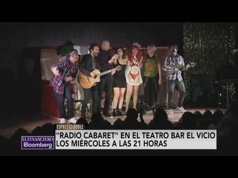 Radio Cabaret , experimento de hacer radio en vivo como en los años 50's y por streaming