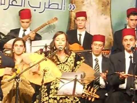 L'ensemble Al Moussilia d'Oujda au festival de la musique gharnatie d'Oujda.