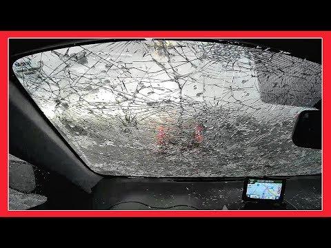 WHAT !! Something Strange happened in COLORADO   JUNE 2017 FEROCIOUS RAW HAIL FOOTAGE