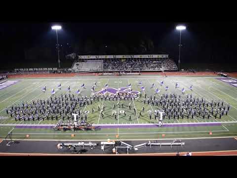 North Royalton High School Marching Band Halftime Performance - Sep 6 2019