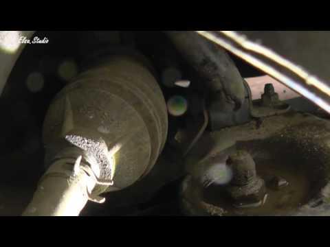 Замена резинок стабилизатора на Chevrolet Aveo