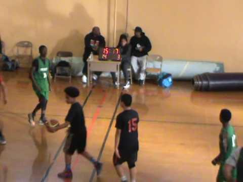Edna Brewer Middle School Varsity Boys' Basketball Team