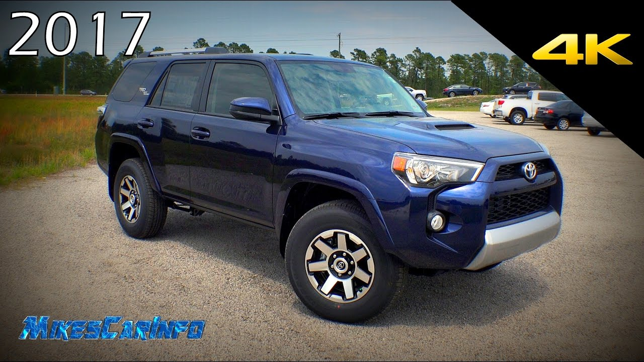 Toyota 4runner Trd Off Road >> 2017 Toyota 4Runner TRD Off Road - Detailed Look in 4K