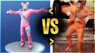 ALL UPDATED FORTNITE DANCES AND EMOTES IN REAL LIFE! (Includes New Click Emote, Wiggle)