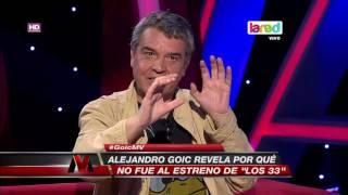¿Por qué Alejandro Goic no fue al estreno de