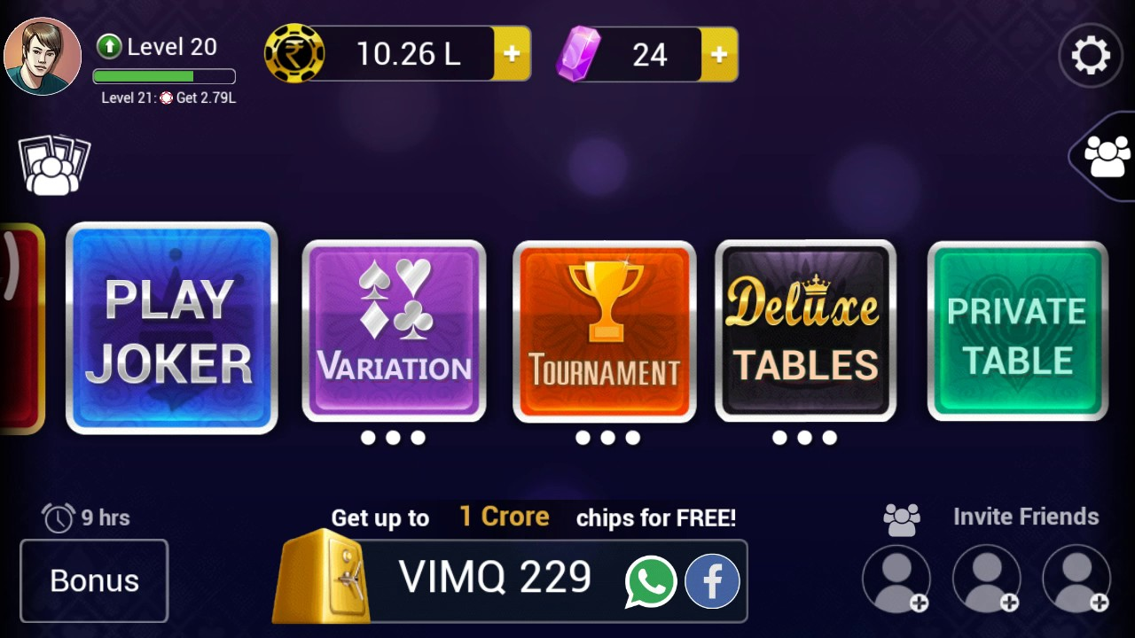 coupon code for teen patti gold